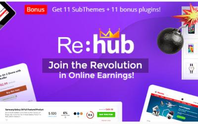 Avis sur ReHub : Le meilleur thème WordPress pour un site d'affiliation (comparateur de produits)
