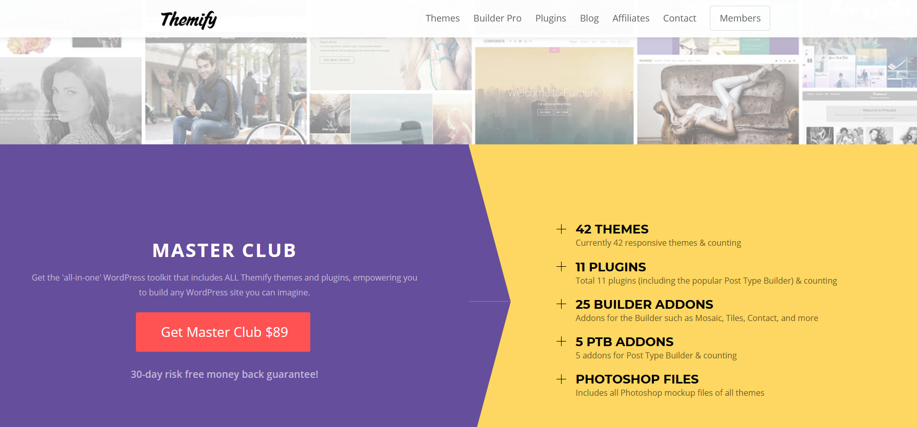 themify theme wordpress